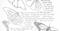 How to Draw Worksheets for Young Artist: How to Draw A Monarch Butterfly Lesson and Worksheet