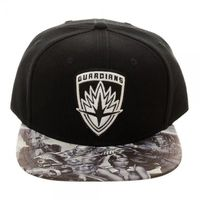 Guardians of the Galaxy Embroidered Icon with Sublimated Bill Snapback $10.00 https://www.nurdtyme.com
