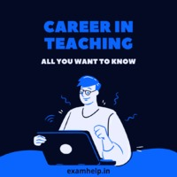 Pursuing a course in the teaching field is one of the excellent career opportunities. It not only builds confidence in a person instead it is the safest career option in terms of job types