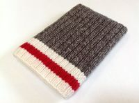 Hand Knit Sock Monkey iPad Mini Case