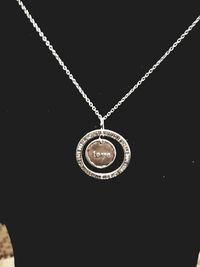 Love, Dream, Hope, Trust, Silver Pendant Necklace $8.00