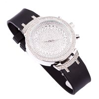 Techno Trend Men's Silver Plated Clear Stones Watch £29.95