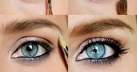 How to Do Sexy Blue Eyes Makeup   Gold Eyeshadow Tips by Makeup Tutorials at http://www.makeuptutorials.com/makeup-tutorial-12-makeup-for-blue-eyes