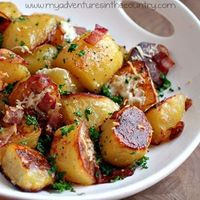 though I don't cook them often it would be fun to have new ways for when I do...Potato Recipes