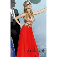 Beaded Cutout Dresses by Alyce Prom 6348 - Bonny Evening Dresses Online