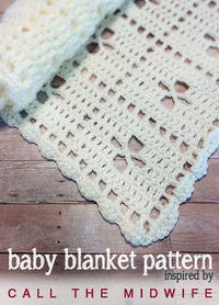 'Call the Midwife' Inspired Baby Blanket