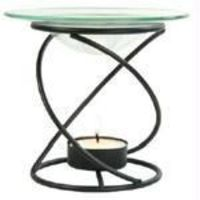 Spiral Candle Lamp (Black) $17.19