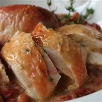 Chef John's Salt Roasted Chicken | A whole chicken cooks up crisp and brown with nothing more than a generous sprinkling of kosher salt.