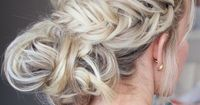 Video tutorial on how to get this gorgeous fishtail updo   Twistmepretty.com