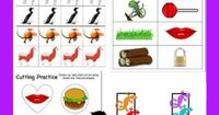 """30+ FREE Preschool Activities with 50+ FREE Printables for Learning to Read Letter """"L"""" from www.HappyandBlessedHome.com #FREEPrintables #PreschoolActivities 