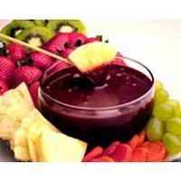 EAGLE BRAND® Chocolate Fondue. Mmmmm! Can't wait to make this for our family Christmas Party.