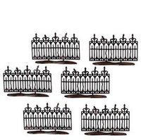 "Department 56: Gift Giving - ""Spooky Wrought Iron Fence"" - Halloween"