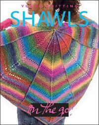 Enjoy knitting shawls on the go with this book from CutRateCrafts. Pick up you own copy of Vogue Knitting's On The Go: Shawls.