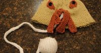 Doctor Who Ood Knitted Hat - OMG this is hilarious!! Hannah you HAVE to make this!!!
