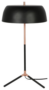 Barrett Table Lamp, Black $72