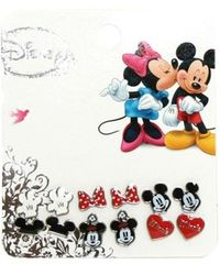 Loungefly Disney Mickey & Minnie Earrings - Set of 6 # Pin++ for Pinterest #