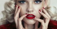 Ginta Lapina by Norman Jean Roy for the December 2013 cover story of Allure Russia
