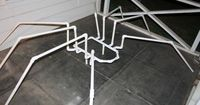 PVC Spider Frame - I am going to have to try this...I make a lot of my body frames from PVC but I never thought of a spider frame