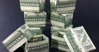 Money Origami Gift Boxes