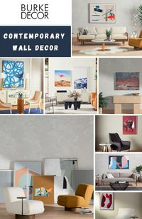 Buy Contemporary Wall Decor: https://www.burkedecor.com/collections/wall-art