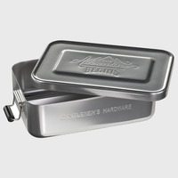 Aluminium Lunch Tin - Gentlemens Hardware £16.99