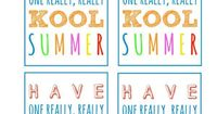 picture relating to Have a Kool Summer Printable known as Articles or blog posts very similar towards: Include a Kool Summer time. Clroom present principle