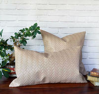 Fast shipping/Beige color wicker mesh faux leather pillow cover/modern scandinavian home decor/housewarming gift -1pcs-9 optional colors $18.00