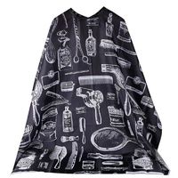 �Ÿ˜�Best Selling 2019 products Pattern Cutting Hair Waterproof Cloth Salon Barber Cape Hairdressing Hairdresser Apron Haircut capes�Ÿ˜� $8.60