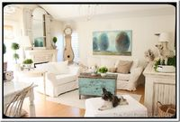 love the subtle color...adore the white couches...been there with kids and don't think I'll be able to have them again for a few years.