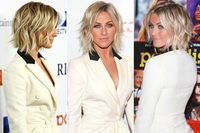 """(Credit: Imeh Akpanudosen/Getty Images North America)Forget the 'Karlie'�€""""we're dubbing Julianne Hough's sexy lob the ultimate haircut of 2013. Why? It's one of"""