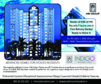 Located far from the traffic of the city-life and surrounded by peaceful green environment, HM Indigo offers beautiful living spaces with all amenities like Fitness Studio, Indoor Party Zone, Sports Arena, Swimming Pool, Party Hall, Parks, etc. It enjoys ...