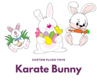 Get best and handmade customized Karate Bunny plush toys. We are offering our services in USA and worldwide. Custom plush toys provide custom toys as per we think about our brand or business. For more information visit our site or contact us at 1-800-304-...