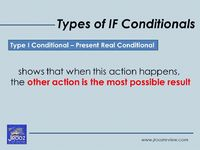 types of IF conditionals - the difference between if and whether