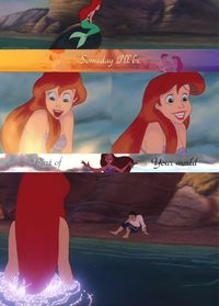 disney princesses, little mermaids and the little mermaid.
