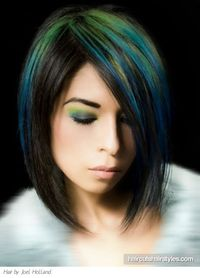 Gorgeous Green and Blue Punk Hair http://www.haircutshairstyles.com/gorgeous green and blue punk hair-1132.shtml