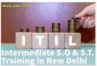 ITIL Intermediate SO & ST Training in New Delhi . ITIL4 Batch is star this week with best trainer. enroll today https://bit.ly/35sN4v3