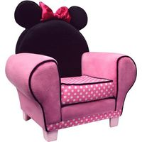 Disney Minnie Mouse Chair..if i had a little girl, i would DEFINITELY BUY HER THIS.