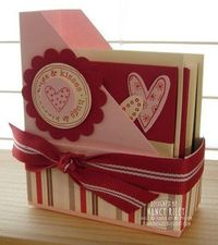 i STAMP by Nancy Riley: VALENTINE'S DAY mini magazine note holder