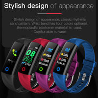 Bakeey S5 Real-time Messages Reminder Heart Rate Monitor IP68 Waterproof Smart Watch