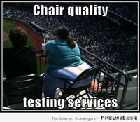 Chair quality testing services