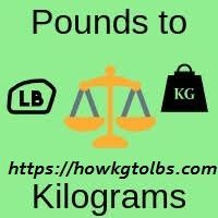 kg to lbs 