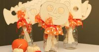 Easy Sugar-free Halloween Party Favor or Classroom Gift