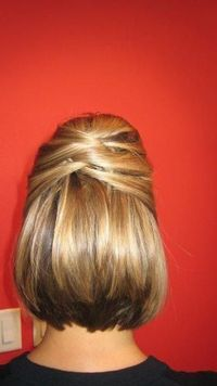 Updo For Short Hair - Hairstyles and Beauty Tips