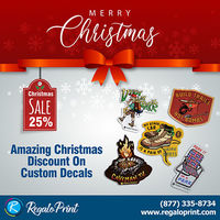 Amazing 25% Christmas Discount On Custom Decals - RegaloPrint.jpg