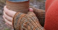 Ravelry: Knitmish's earl grey mitts