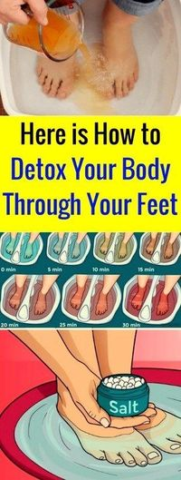 FacebookTwitterGoogle+PinterestThe ancient Chinese medicine practiced a detox method through the feet, based on the belief that the feet contain numerous energy