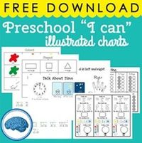 """Star Binder PRESCHOOL - I can - should know - ANCHOR / POSTERS 