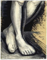 Untitled (1954) by David Alfaro Siqueiros