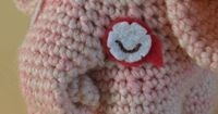 Padma the Elephant DawnToussaint shares a really great tutorial (crochet-a-long) on how to make your very own little pink Padma!  She also invites us to post our completed projects on Ravelry: CAL with DawnToussaint