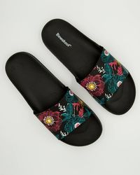 Buy Floral Printed Sliders For Women Online